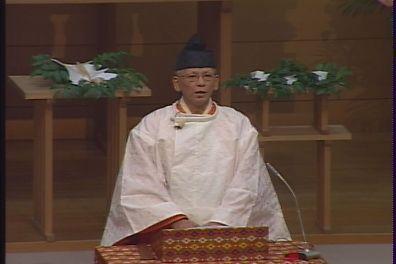 12月14日 布教功労者報徳祭 教務総長挨拶