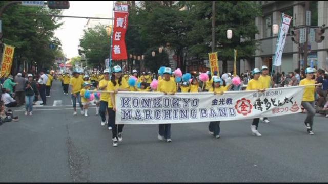 北九州教区博多どんたくパレード