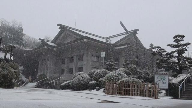 2月14日 ご霊地の風景 雪