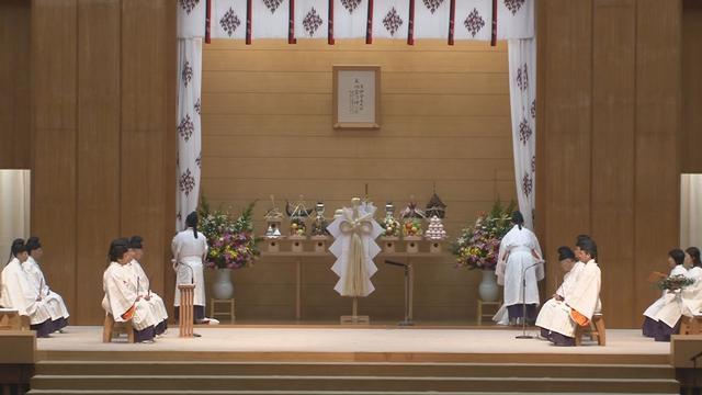 天地金乃神大祭 並びに 東北地方太平洋沖地震復興祈願祭 祭典の様子