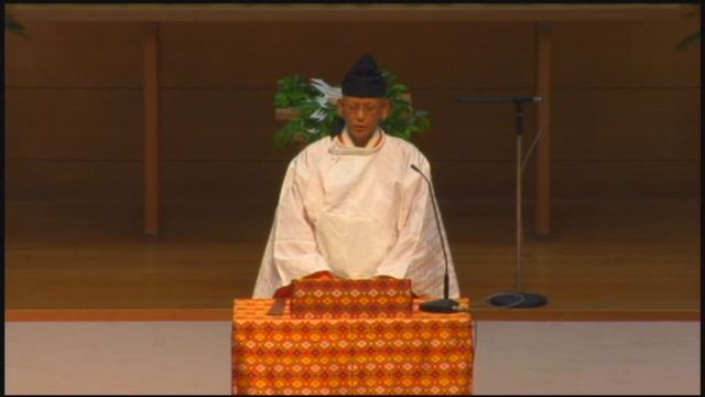 6月12日 教団独立記念祭 教務総長挨拶