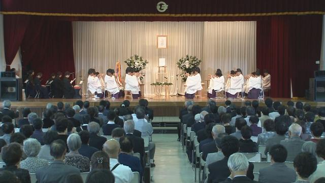 9月25日 東日本大震災 金光教慰霊復興祈願祭