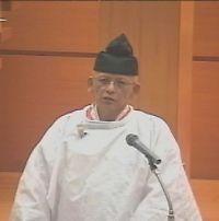 1月1日 元日祭 教務総長挨拶