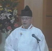 3月20日 春季霊祭 教務総長挨拶