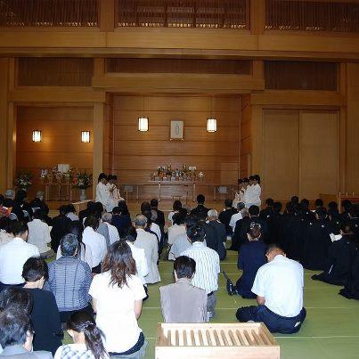 9月22日 月例祭並びに秋季霊祭 教務総長挨拶