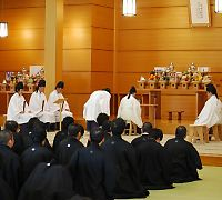 【教話】 11月22日 月例祭 祭典後の教話