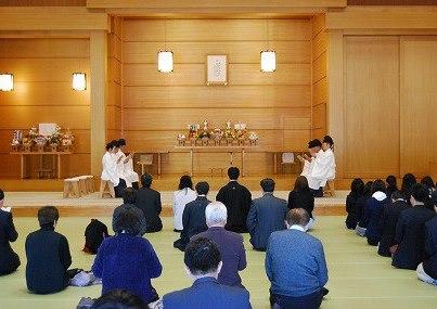 【教話】12月10日 月例祭 祭典後の教話