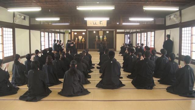 5月15日 金光教学院本科入学式