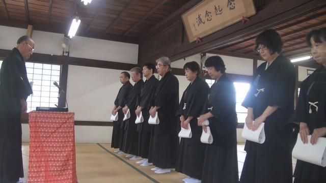 7月15日 金光教学院特科卒業式
