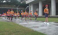 図書館祭り 霊地少年少女鼓隊パレード