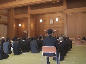 11月30日 第49回通常教団会 開会式