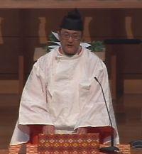 布教功労者報徳祭並びに金光攝胤君五十年祭 教務総長挨拶