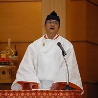 12月31日 越年祭 教務総長挨拶