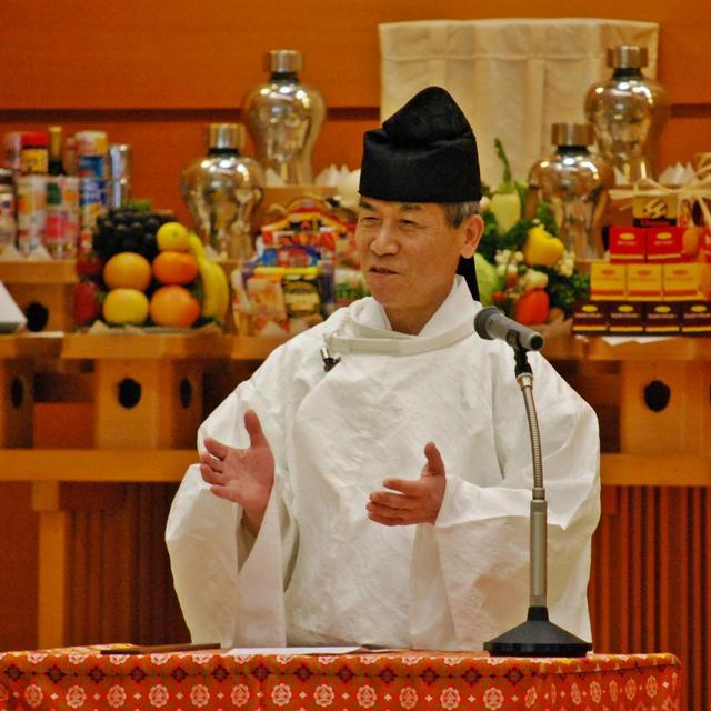 【教話】 10月22日 月例祭 祭典後の教話