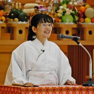【教話】12月22日 月例祭祭典後の教話