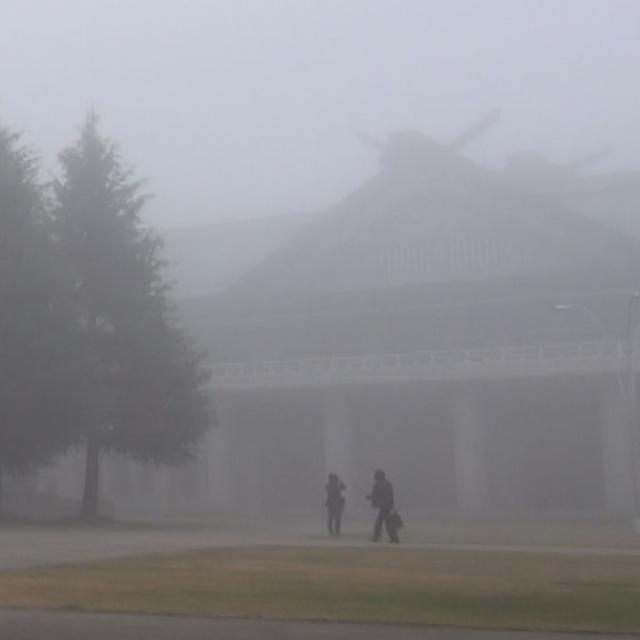 3月17日 ご霊地の風景・霧