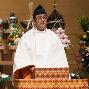 布教功労者報徳祭並びに金光真心高清姫百年祭 教務総長挨拶