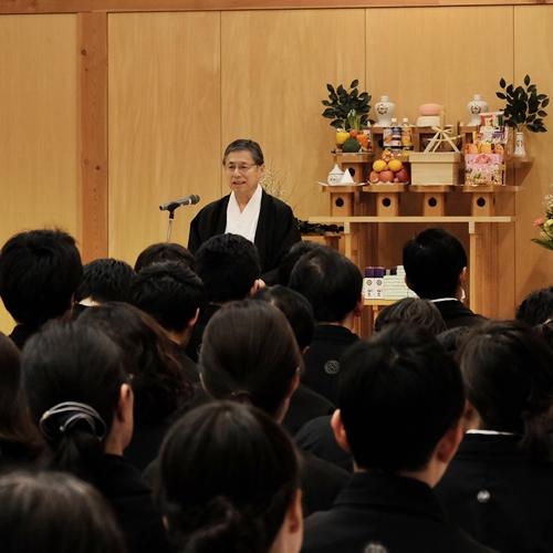 2月7日 一子大神景仰祈願祭並びに金光教霊地婦人会創立90周年記念祭