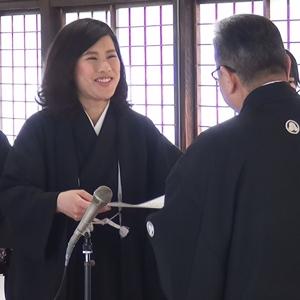 4月15日 平成27年度 金光教学院本科卒業証書授与式