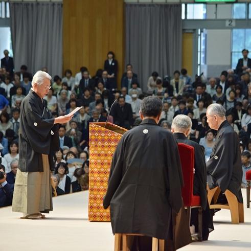 6月12日 教団独立記念祭並びに教主就任式