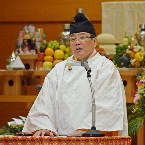 【教務総長挨拶】9月22日 月例祭並びに秋季霊祭