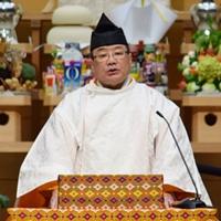 布教功労者報徳祭並びに金光鑑太郎君25年祭 教務総長挨拶