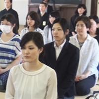 5月14日 平成29年度金光教学院本科入寮式