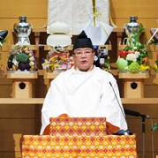 【教務総長挨拶】布教功労者報徳祭並びに金光田保子姫30年祭
