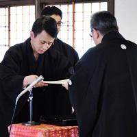 4月15日 平成29年度 金光教学院本科卒業証書授与式
