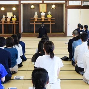 5月14日 平成30年度金光教学院本科入寮式