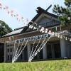 8月5日 第74回金光教少年少女全国大会境内準備作業