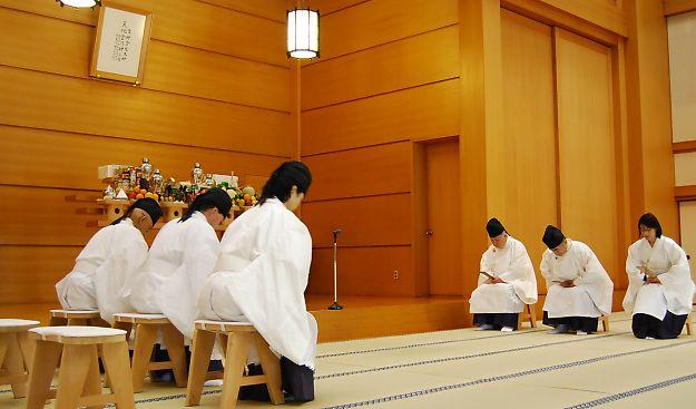 12月10日 本部広前 月例祭