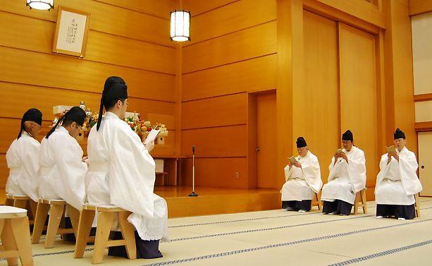12月22日 本部広前 月例祭
