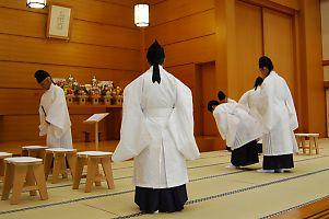 1月22日 本部広前 月例祭