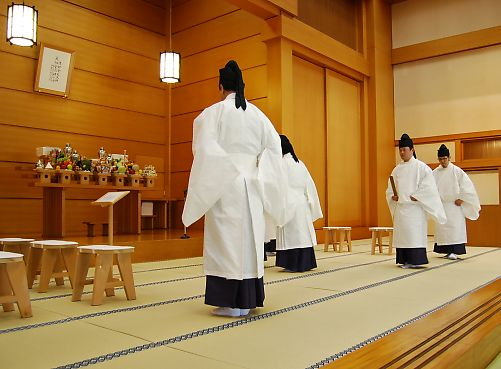 2月10日 本部広前 月例祭