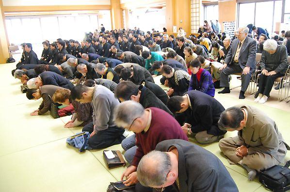 3月10日 本部広前 月例祭