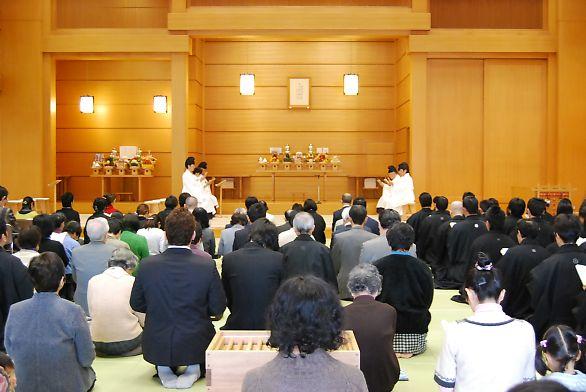 3月22日 本部広前 月例祭