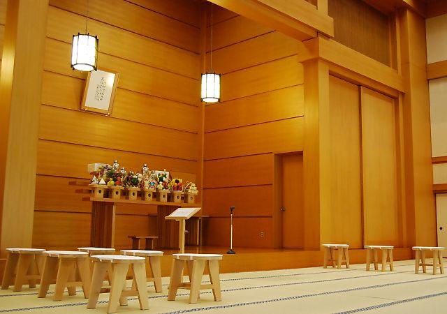 5月22日 本部広前 月例祭