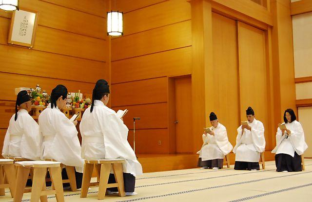 7月22日 本部広前 月例祭