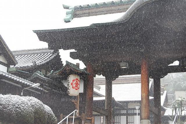 ご霊地の風景 雪